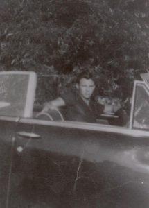 Buddy in Car